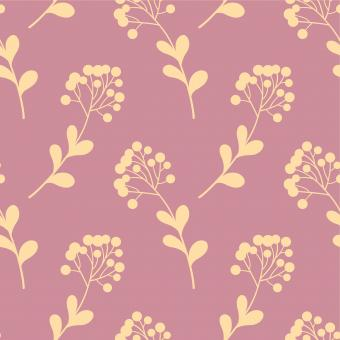 Free Stock Photo of Pink and Yellow Floral Pattern