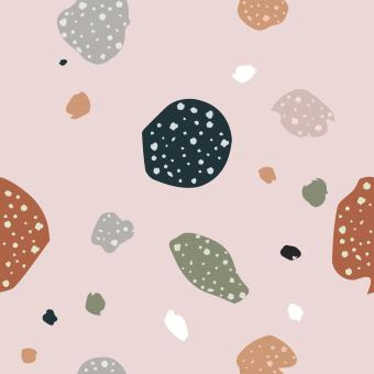 Free Stock Photo of Organic Terrazzo Seamless Pattern with Modern Colors