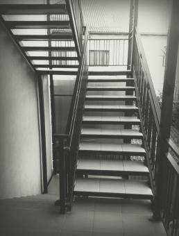 Free Stock Photo of Staircase - Monochrome