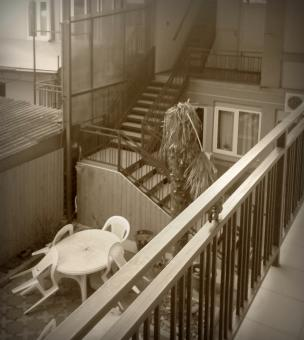 Free Stock Photo of No people in the house - Sepia