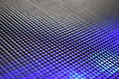 Free Stock Photo of Gradient Metal Grid Texture