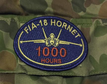 Free Stock Photo of F/A-18 Hornet Patch