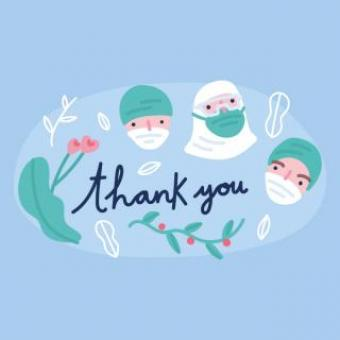 Free Stock Photo of Thanks to all the Nurses and Doctors