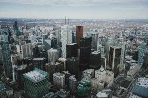 Free Stock Photo of Downtown Toronto, Canada
