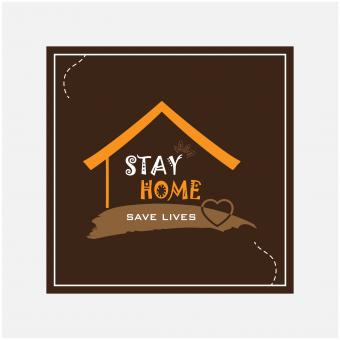 Free Stock Photo of Lets Stay Home Save Lives
