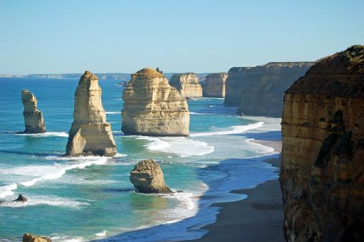 Free Stock Photo of Twelve Apostles
