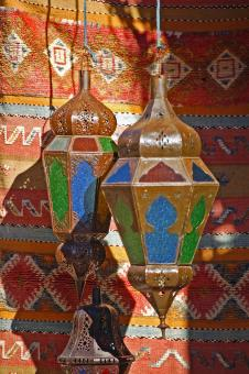 Free Stock Photo of Morrocan Lanterns