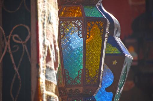 Free Stock Photo of Beautiful Lanterns Close Up