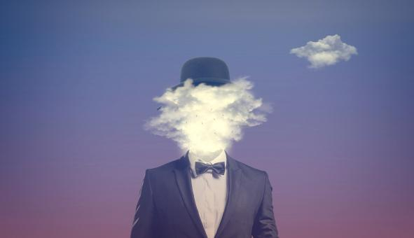 Free Stock Photo of Head in the Clouds - Clouded Judgement