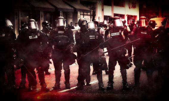 Free Stock Photo of Police - Riot - Protest - Insurrection - Civil Unrest