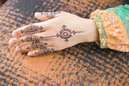 Free Stock Photo of Henna Tattoo - Indian Art