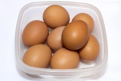 Free Stock Photo of Brown Eggs In a Bowl
