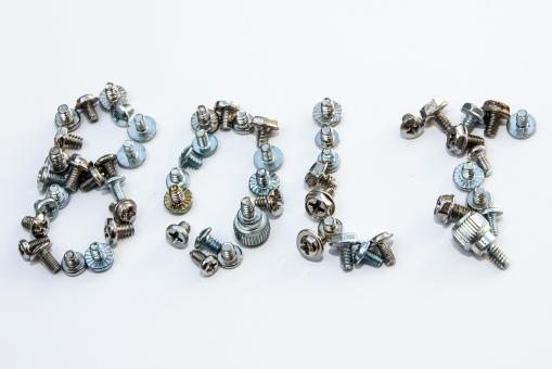 Free Stock Photo of Writing bolt from bolts