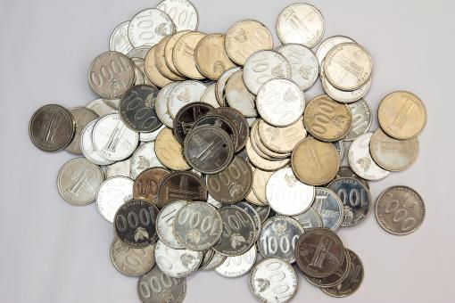 Free Stock Photo of Mixed Pile of Coins