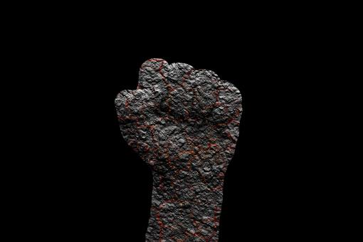 Free Stock Photo of Burnt Fist