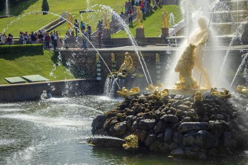 Free Stock Photo of Golden Fountain - Peterhof Palace