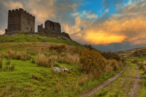Free Stock Photo of Dolwyddelan Fire Castle