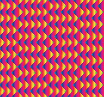 Free Stock Photo of Bright red and blue zigzag pattern