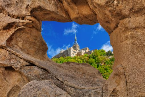 Free Stock Photo of Window Arch Abbey