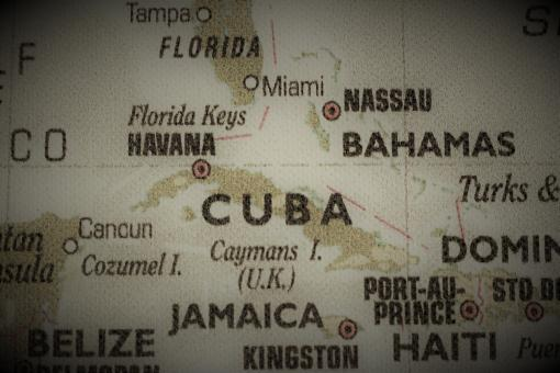Free Stock Photo of Old Map of Cuba