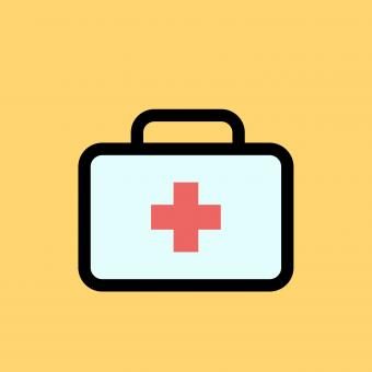 Free Stock Photo of First Aid Illustration