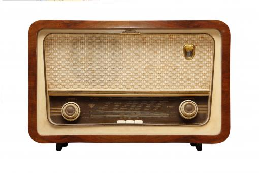 Free Stock Photo of Vintage Radio