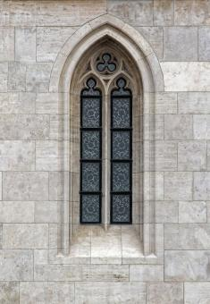 Free Stock Photo of Gothic Window in Budapest