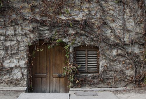 Free Stock Photo of Winery Cellar Entrance