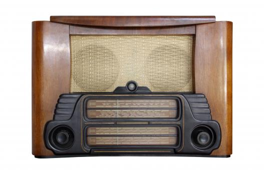 Free Stock Photo of Old Vintage Radio
