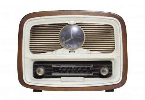Free Stock Photo of Retro Radio