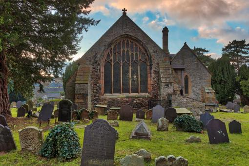 Free Stock Photo of St Bridgets Parish Church