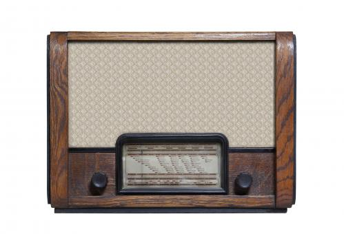 Free Stock Photo of Antique Radio