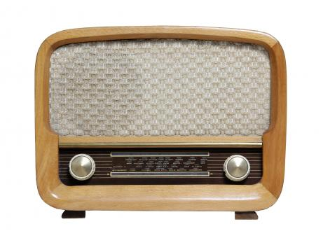 Free Stock Photo of Vintage Shortwave Radio