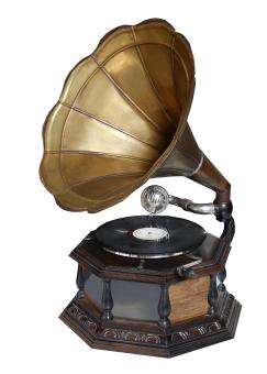 Free Stock Photo of Vintage Gramophone