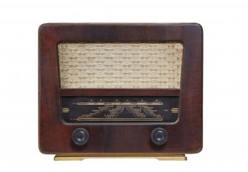 Free Stock Photo of Vintage Radio Equipment