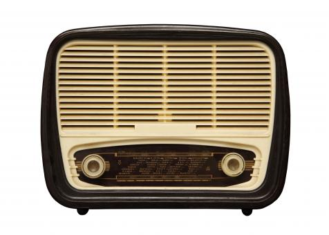 Free Stock Photo of Retro Radio Device