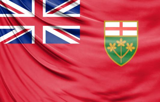 Free Stock Photo of Ontario Flag