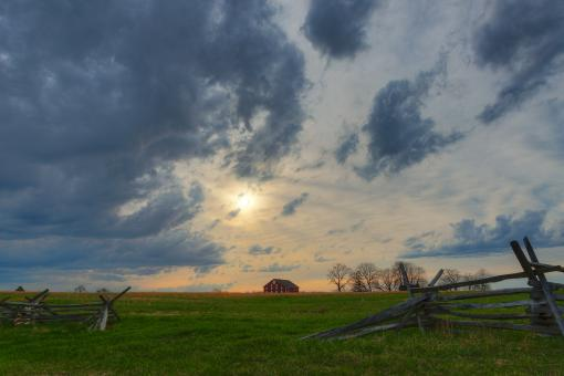 Free Stock Photo of Gettysburg Cloudemonium