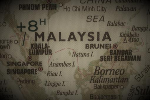 Free Stock Photo of Old map of Malaysia