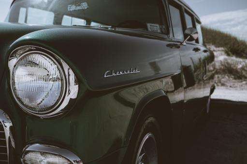Free Stock Photo of Old Chevrolet Wagon