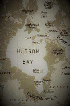 Free Stock Photo of Old Map of Hudson Bay