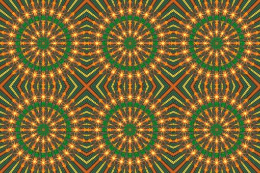 Free Stock Photo of Mandala Sunburst Pattern