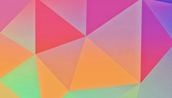 Free Stock Photo of Polygon Abstract Design