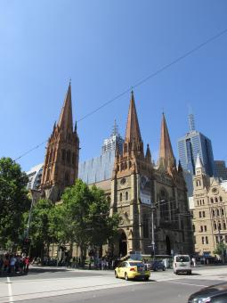 Free Stock Photo of St. Paul's Cathedral Melbourne