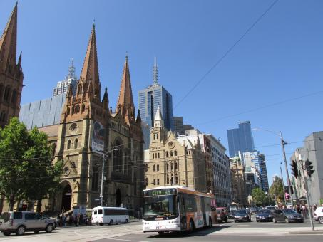 Free Stock Photo of St. Paul's Cathedral - Melbourne - Australia