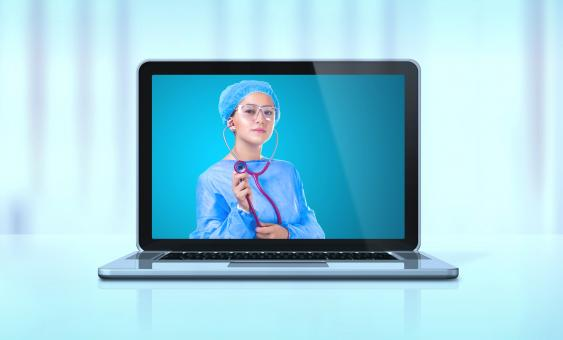 Free Stock Photo of Telemedicine Concept - e-Health - Virtual Healthcare - Telehealth