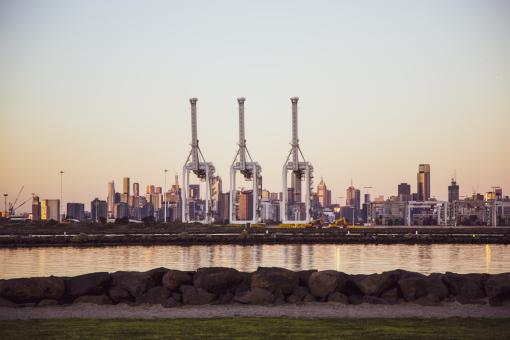 Free Stock Photo of Williamstown Skyline