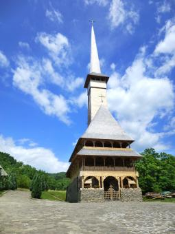 Free Stock Photo of Wooden Church in Romania