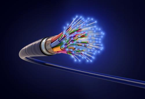 Free Stock Photo of Optical Fiber - Fiber-Optic Cable - Information Technology