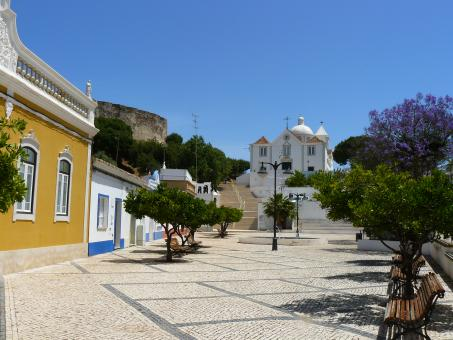 Free Stock Photo of Algarve Village - Castro Marim